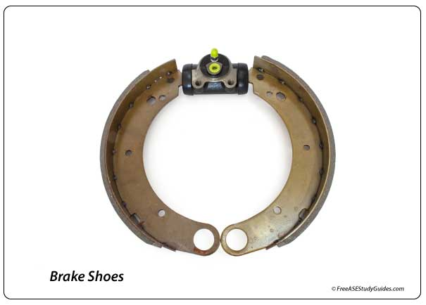 Primary and Secondary Brake Shoes