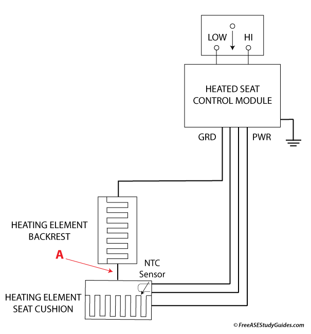 Heated Seat Circuit
